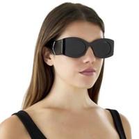 Satış 2020 Oval Güneş Kadınlar 0810 Marka Tasarımcısı Güneş Gözlüğü Ünlü Marka Siyah Trendy Erkekler Moda Steampunk Güneş Gözlükleri Marka Sunglass
