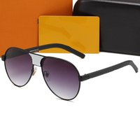 1082 Designer Sunglasses Uomo Occhiali da vista Occhiali da vista Outdoor Shades PC Frame Fashion Classic Lady Occhiali da sole Specchi per le donne