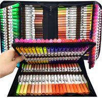 Suluboya Fırça Kalem Copic Markers 120 Renkli Çift Uç Sanat Işaretleyiciler Kelepçe Kalemler Çizim Kırtasiye Jllege Için Keçe Kalemler Sketchbooks