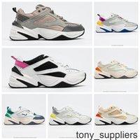 Nuevo zoom al por mayor M2K TEKNO 2000 Hombres Zapatillas para correr para mujer Triple Negro Blanco Dinámico Dinámico Amarillo Zapatillas deportivas Zapatillas de deporte