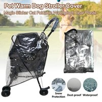 Dog Car Seat Covers Stroller Cover Windproof Breathable Foldable Waterproof Pet Warm Clear Plastic Outdoor Travel Protection Portable Dustpr