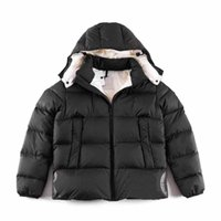 2021 Top Quality Wholesale Designer Men's winter Down jacket Men coat Thick Puffer Goose Active Outdoor Warm Hooded fashion Hoodies classic
