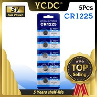 5PCS CR1225 3V Lithium Cell Coin Battery CR 1225 LM1225 BR1225 KCR1225 Button Batteries For Watches Flash toys Remote Control