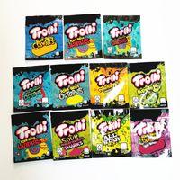 Trolli TRRRLLI APPLE OS Saure Brite Crawlers Edibles Gummies Verpackung Taschen Riechen Proof Reißverschluss Beutel 600mg Taschen