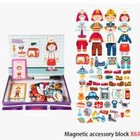 Çocuk Jigsaw Puzzle Oyuncaklar Manyetik Oyun Öğrenme Eğitim Eşleştirme Eğitim Oyuncaklar Çocuklar için
