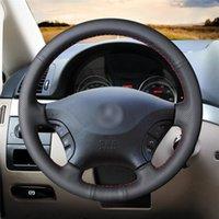 Couvertures de volant HIY Housse antidérapante Résistant à l'usure pour - W639 Viano 2006-2011 Vito 2010-2021 Décoration d'intérieur de la voiture