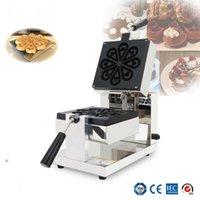 Ekmek Makineleri Su Damlacıkları Şekillendirilmiş Döner Waffle Makinesi, Yaprakları Makinesi, Mini Kalp Şekli Makinesi