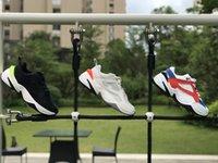 Nike M2K Tekno Venda Quente M2K Tekno Chunky Paizinho Run Shoes Cool White Pure Platinum Black Obsidian Mens Plataforma Das Mulheres Esportes Ao Ar Livre Sapatilhas