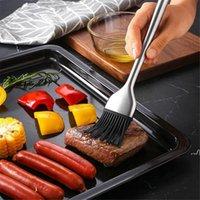 Cake Brush Silicone Baking Oil Brush Pastry Cream For Bread BBQ Utensil Basting Oil Brushes DWF7785