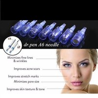 Skin care Dermaroller derma roller for acne scar Dr pen A1And A6 needle Nano-silicon wafer Electric microneedle instrument Nanoneedles face
