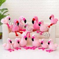 30 cm flamingo brinquedos de pelúcia rosa flamingo recheado bonecas de pelúcia brinquedo animal almofadas almofadas de almofada de almofada de Natal DHL frete
