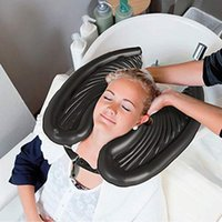 Inflatable PVC portable shampoo bowl Wash Head Basin Without Salon Chair Cutting Hair