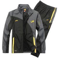 ECTİK Erkek Spor Takım Elbise Eşofman Spor Erkek Koşu Takım Hızlı Kuru Egzersiz Fitness Koşu Spor Salonu Erkek Eşofman Setleri