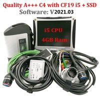 Code Readers & Scan Tools Quality A+++ MB STAR C4 Diagnosis Multiplexer Tester With V2021.03 Software SSD Laptop CF19 Ready To Work