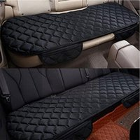 Car Seat Covers Universal Cover Rear Thickened Velvet Cloth Cushion Winter Protector Non Pad Warm Mat Keep Auto Suv Truck Van Slid F3K2