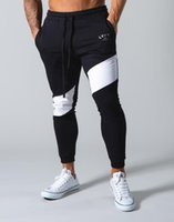 Gymnases Designer Santé noire Joggers Pantalons Skinny Hommes Pantalon Casual Pantalon Homme Fitness Entraînement Coton Pantalon Pantalon Automne Hiver Sportswear