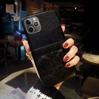 Fashion Offical Leather Designer Card Wallet Phone Cases for iphone 13 12 11 Pro Max 13pro 12pro 11Pro XR XSMax 7 8 plus all with original box packing Case