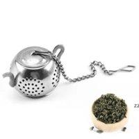 Tetera té infusor lindo acero inoxidable de acero inoxidable 304 colcheer infusieros sueltos infusers filtro de utensilios de té utensilios de cocina HWF7606