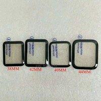 Películas de pantalla para Apple 38mm 42mm 40mm 44mm SMAR RELOJ DE SMAR PEGO COMPLETO 3D CRISTAL TEMPEMENTE CURVADO