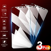 Cell Phone Screen Protectors 3pcs vidro temperado para for samsung galaxy a3 a5 a6 a7 a8 a9 j2 j3 j4 j5 j6 j7 j8 2017 2018 protetor de tela j2 j4 j7 core s7