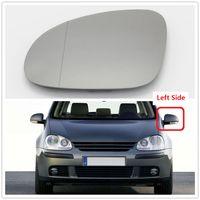 VW Golf V Için Sol Sürücü Tarafı V MK5 2006 2007 2008 2009 Araba-Styling Araba Kapı Yan Ayna Isıtmalı Cam