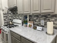 Art3D-10-Blatt Tapeten selbstklebende Fliesenrücksack für Küchenvinyl-dekorative Fliesen