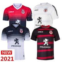 2020 2021 Tulus الرجبي قميص الحافة الرجبي الفانيلة تي شيرت Accueil جيرسي الركبي الدوري 2019 2020 2021 قميص S-5XL