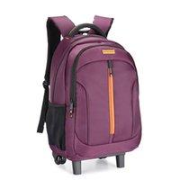 Чемоданы брендовой колес рюкзак студентами багаж мода посадки путешествия многофункциональный чемодан расширение компьютерная школьная сумка