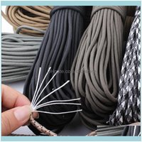 Outdoor Gadgets And Camping Hiking Sports & Outdoors27 Colors 7 Inner Strands Type Iii Diamter 4Mm Paracord Cord Rope Survival Kit Wholesale
