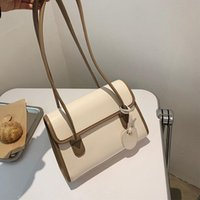 Cross Body Fashion Contrast Color Temperament Bag Women 2021 High-quality One-shoulder Messenger Casual Luxury Underarm Tote