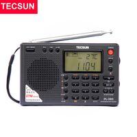 TECSUN PL-380 Tam Bant Radyo Dijital Demodülasyon Stereo PLL Taşınabilir FM / LW / SW / MW DSP Alıcı İnternet 210625