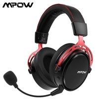 Auriculares de juegos inalámbricos Mpow Air 2.4G 7.1 Auriculares de juego de sonido envolvente para PC PS4 con doble unidad de cancelación de ruido