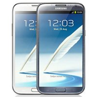 Original recondicionado Samsung Galaxy Note 2 N7100 N7105 5,5 polegadas Quad Núcleo 2GB Ram 16GB ROM Desbloqueado 3G 4G LTE Smart Cell Phone DHL 5PCS