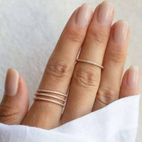 Подарок Zircon из нержавеющей стали для женщин плиссированные золотые минималистские эстетические влюбленные винтажные роскошные кольца готические аксессуары ювелирные изделия