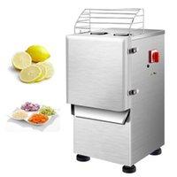 Commercial Vegetable Cutter Machine For Canteen Restaurant Hotel Kitchen Stainless Steel Electric Slicer Shredder