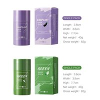 20٪ الشاي الأخضر تطهير قناع الصلبة نظيفة عميق الجمال الجلد جرينيس ترطيب الرعاية الوجه الرعاية أقنعة الوجه القشور T427