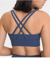 free bra women Crossing Yoga Sports bra yoga Shirts gym Vest Push Up Fitness Tops Sexy Underwear Lady Tops yogaworld