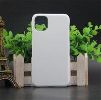 iPhone 12 미니 프로 최대 3D 승화 빈 전화 케이스 아이폰 11 8 7 6s + x xs max