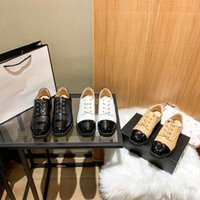 Elegant Designer classic women Flat Casual leather shoes Top Quality Luxury Dress shoe lady laid-back flats low fashion trainer