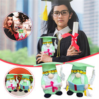 Graduation Gnomes Grad Swedish Plush Gnome Black Green Nordi...