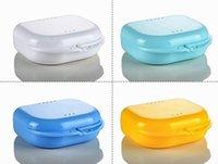 Garde-bouche Boîtier Dentaire Orthodontique Boîte de retenue Boîtier Plastique Denture Boîte Boite de dentier Conteneur de dents Box 120pcs