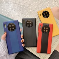 Cell Phone Cases Leather For HUAWEI Mate 30 40 Pro Phone Protector Cell Phone Accessories 4 Colors