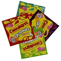CannAnKurst Kılıfı Sakızlı Depolama Ambalaj Çanta Edibaz Gummies Gıda Paketleme Çantası Mylar Paket Kilitli Közleme Koku Kuru Çiçek