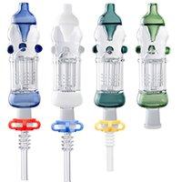 Glass_Shop_420 CSYC NC021 Árvore de braço PERC OD 32mm Tubulação de fumo 14mm Quartzo Titânio Cerâmica Nail Dab Rig Rig Glass Water Bongs Pro Plus