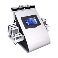Горячая распродажа Ультразвуковая кавитация жира для похудения машина липо лазерной потери веса радиочастот кожа затягивает красоту оборудование 5 головок