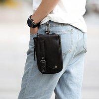 Moda verão celular cintura saco homens fanny pacote pacote de cigarro pequeno mochila ombro crossbody saco c121 c0305