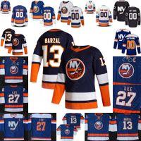 New York Islanders Jersey Mathew Barzal Anders Lee 7 Eberle Jean-Gabriel Pageau Josh Bailey Brock Nelson Semyon Varlamov Anthony Beauvillier