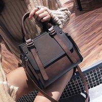 HBP LEFTSIDE Vintage neufs sacs à main pour femmes 2021 Femme marque cuir sac à main de haute qualité petits sacs Sacs à bandoulière Casual