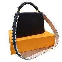 الكابو الشهيرة تصميم السيدات حمل حقيبة عالية الجودة جلد الثعبان حقائب الكتف crossbody محفظة مومياء محافظ حقيبة تسوق اليد