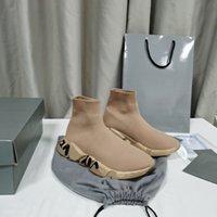 Sock-Like تصميم أحذية رياضية 2021 مصمم الفاخرة السببية أحذية سببية لا تقنية الذاكرة حافي القدمين يشعر الأزياء أعلى جودة إيطاليا الحرفية A2